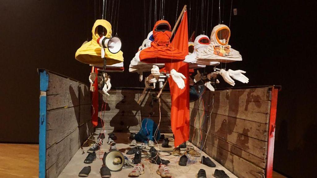 24 Karya Seni Kontemporer Indonesia di Galeri Nasional Australia