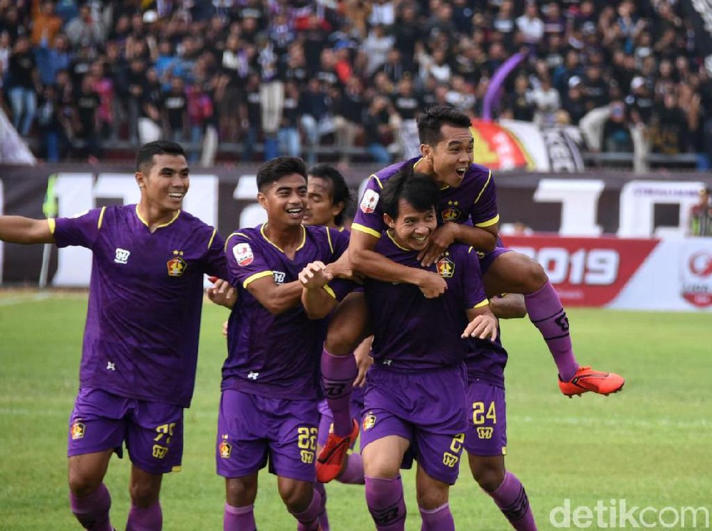 Liga 2 2019: Persik Lumat PSBS Biak karena Main Cerdas