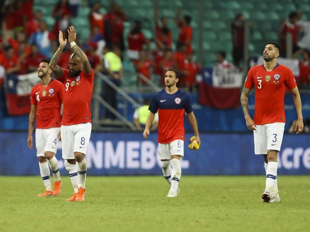 Chile Bidik Hat-trick Juara Copa America