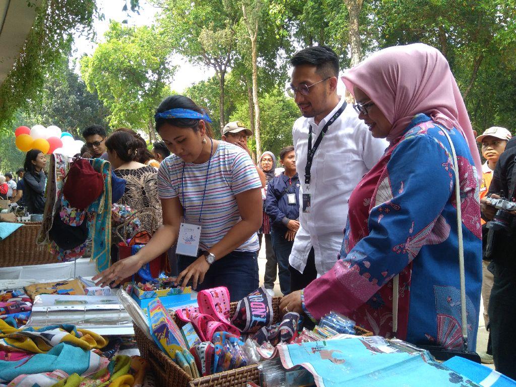 Banyak Murahnya, Belanja Pakai Go-Pay di Pasar Raia Lapangan Banteng