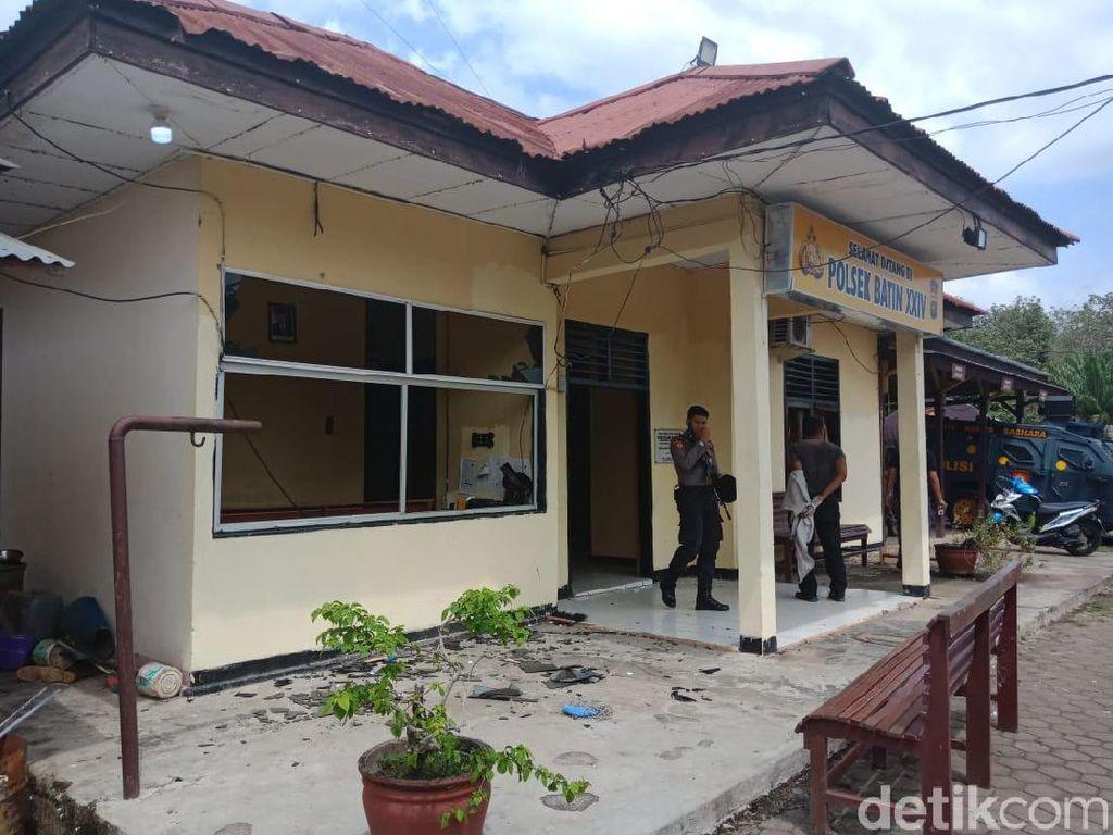 Polsek Batin XXIV Diserang karena Massa Cari Pencuri yang Tewaskan Ketua PPP