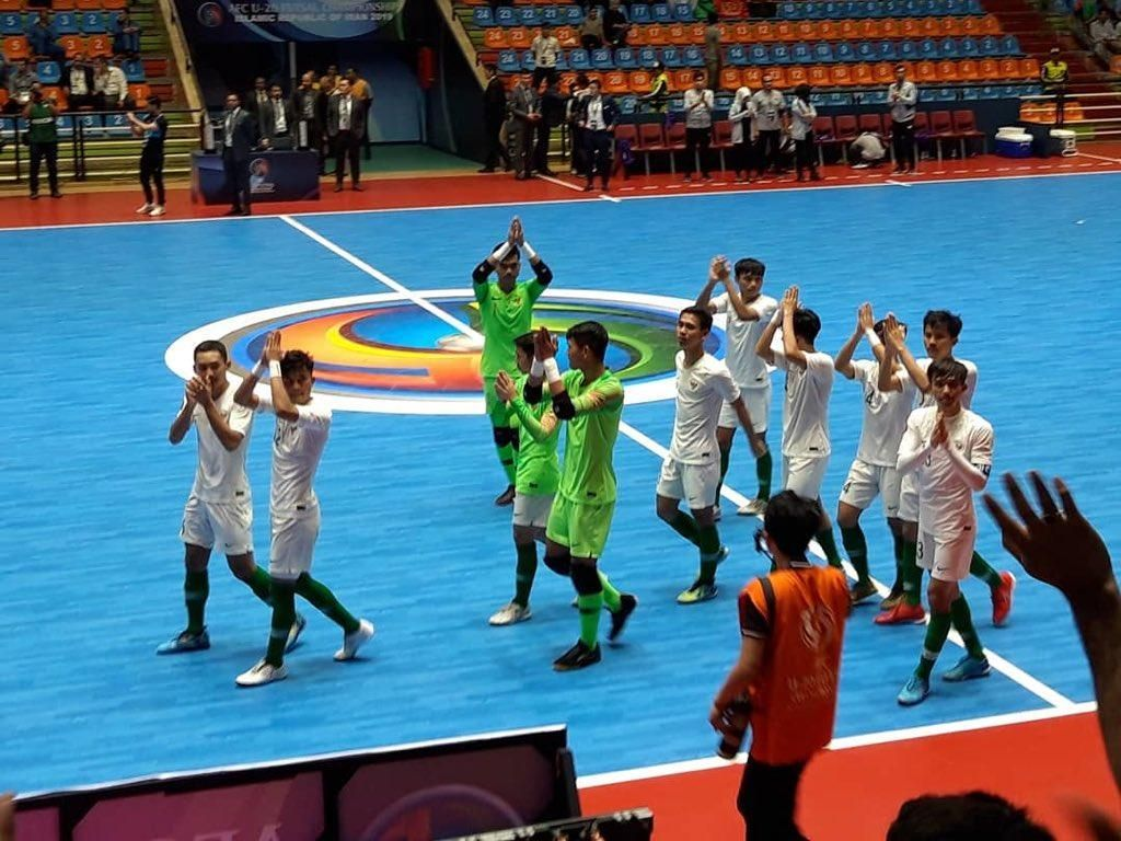 Dihajar Iran 1-9, Indonesia Gagal Raih Posisi Tiga Piala Asia Futsal U-20