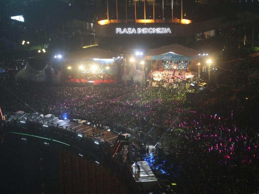 Siti Badriah hingga Pasha Bawakan Lagu Betawi di HUT DKI Jakarta