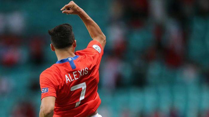 Alexis Sanchez diyakini akan bergabung dengan Inter Milan. (Foto: Rodolfo Buhrer/REUTERS)