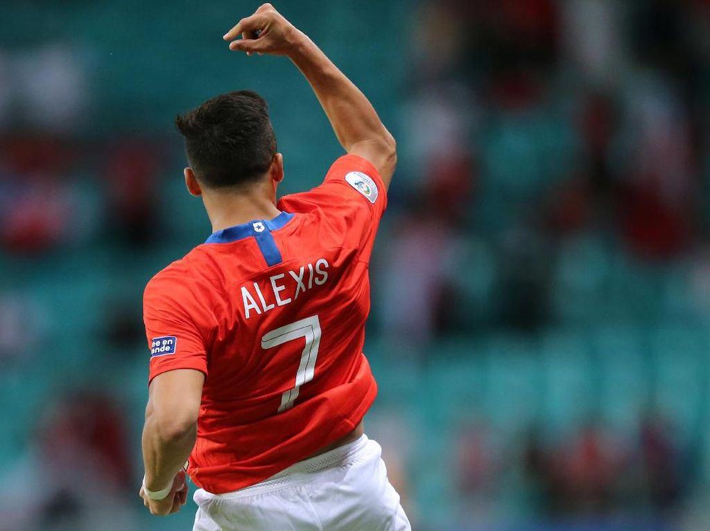 Alexis Sanchez Pastikan Chile ke Perempatfinal Copa America 2019