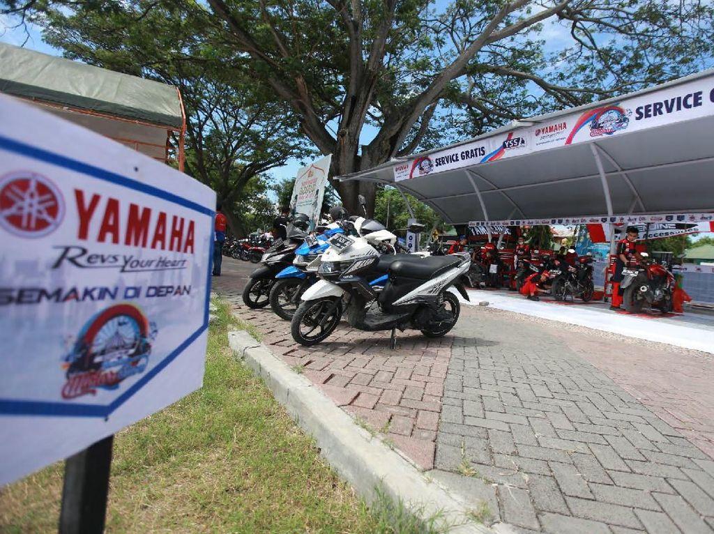 Ketangguhan Blue Core Milik Yamaha di Mata Masyarakat Palu