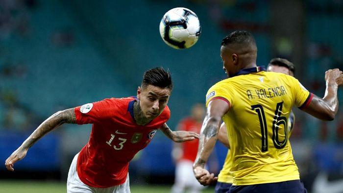 Chile dan Ekuador bertanding di Arena Fonte Nova, Sabtu (22/6/2019) pagi WIB. (Foto: Felipe Oliveira/Getty Images)