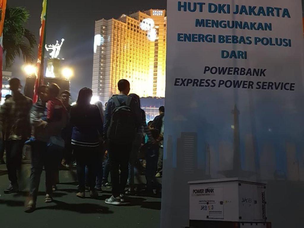 HUT Jakarta, PLN Dukung dengan Listrik Tanpa Polusi