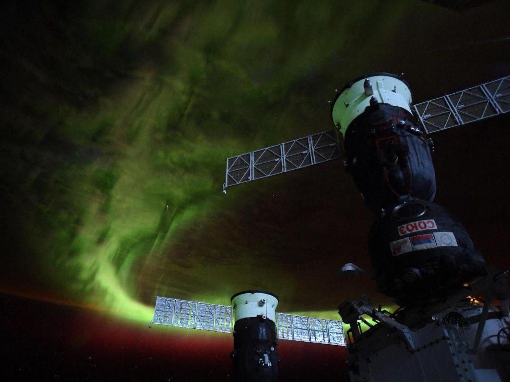 Astronaut Rusia Rekam Penampakan yang Diduga UFO