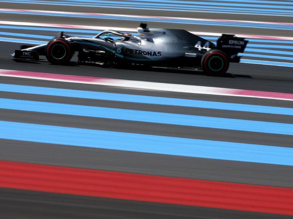 Hamilton Rebut Pole Position GP Prancis, Bottas Kedua