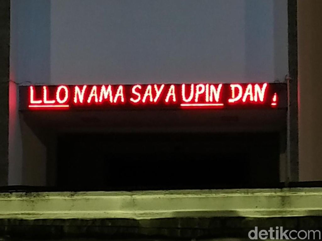 Ada Upin dan Ipin di Gedung DPRD Pacitan