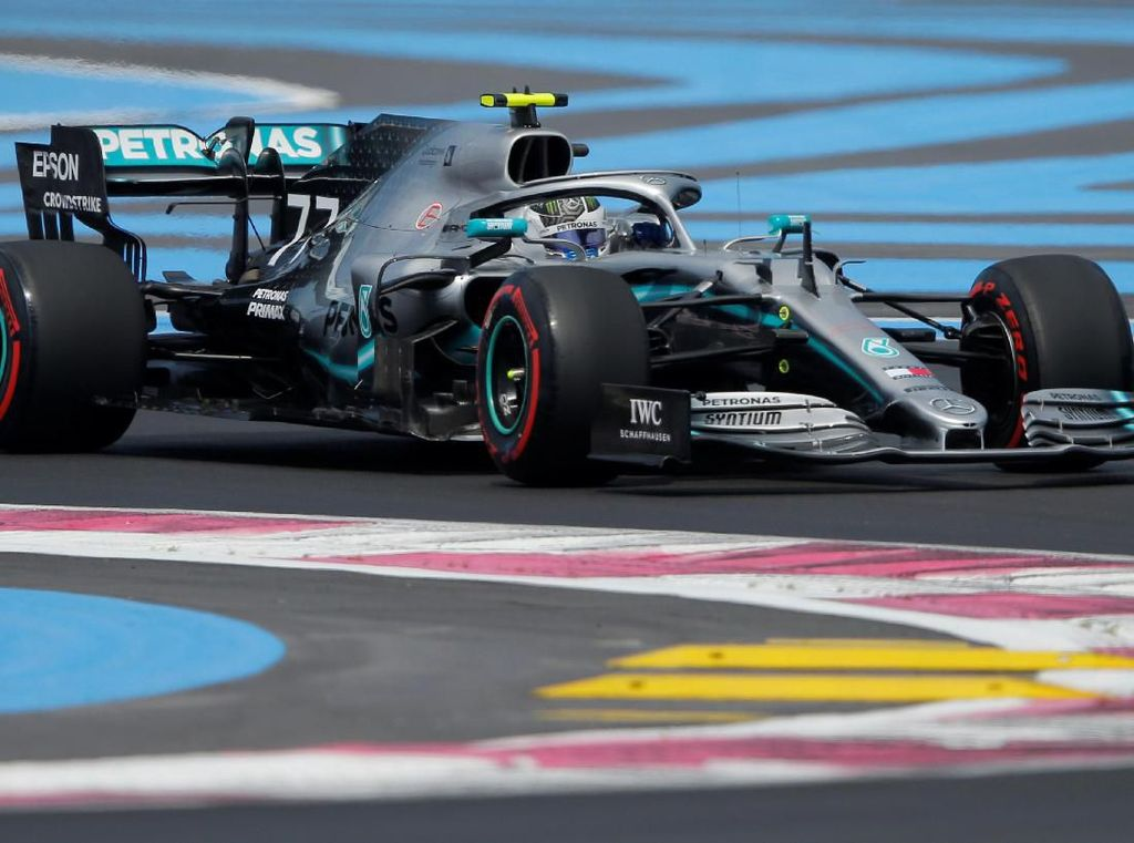 Valtteri Bottas Tercepat Lagi di FP 3 GP Prancis