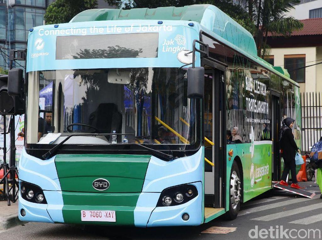 BPTJ Target Luncurkan 41.000 Unit Bus Listrik hingga 2024