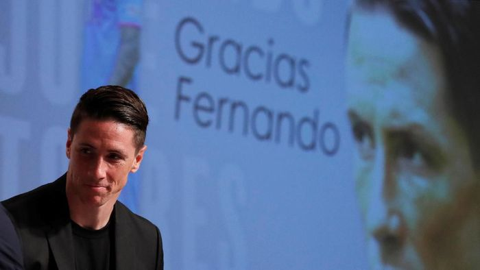 Fernando Torres belum tahu mau apa usai pensiun Agustusu nanti (Issei Kato/REUTERS