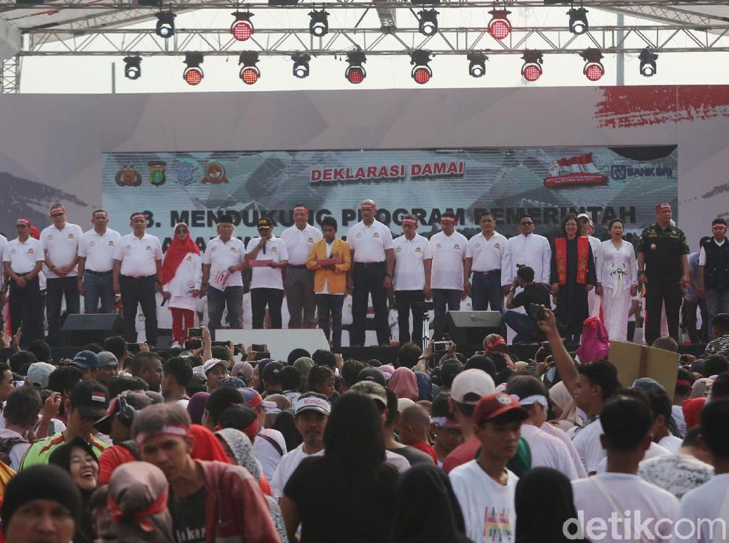 Festival Damai di Monas Raih Rekor Muri