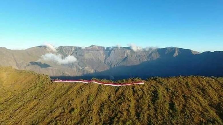 7 Fakta Gunung Tambora yang Pernah Meletus Dahsyat (Foto: Taman Nasional Gunung Tambora)