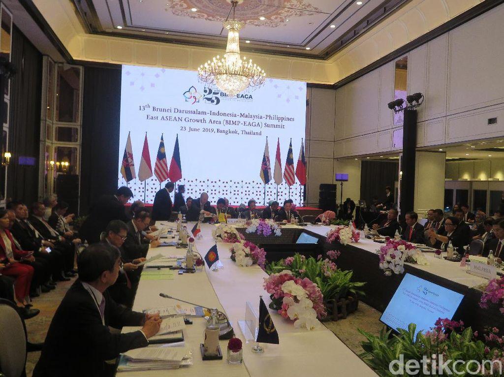 KTT Ke-13 BIMP-EAGA, Jokowi Ingatkan Peningkatan Keamanan Kawasan Maritim