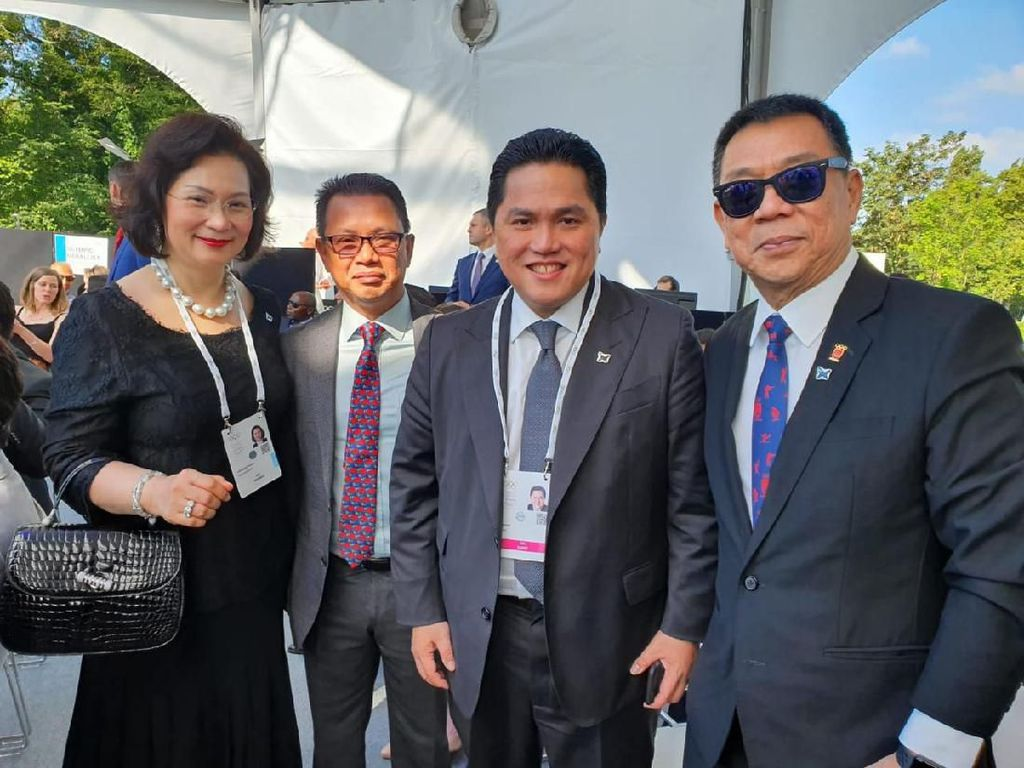 Erick Thohir Jadi IOC Members