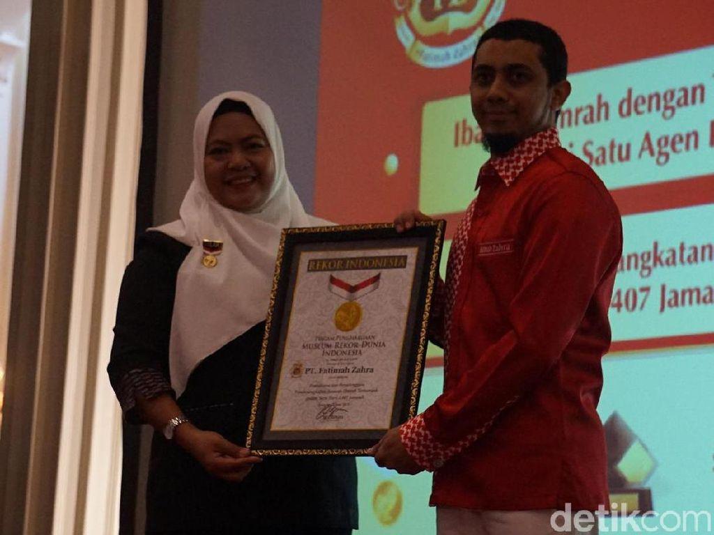 Pemberangkatan 1.407 Jamaah Umrah Sehari di Semarang Pecahkan Rekor