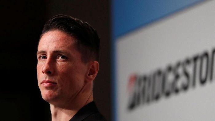 Fernando Torres memutuskan pensiun dari sepakbola karena tak kuat secara fisik (Issei Kato/REUTERS)