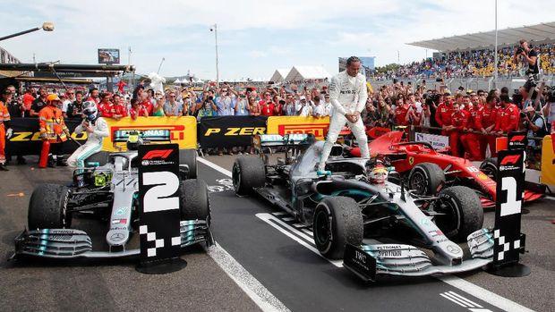 Hasil F1 GP Prancis: Lewis Hamilton Dominan dan Juara
