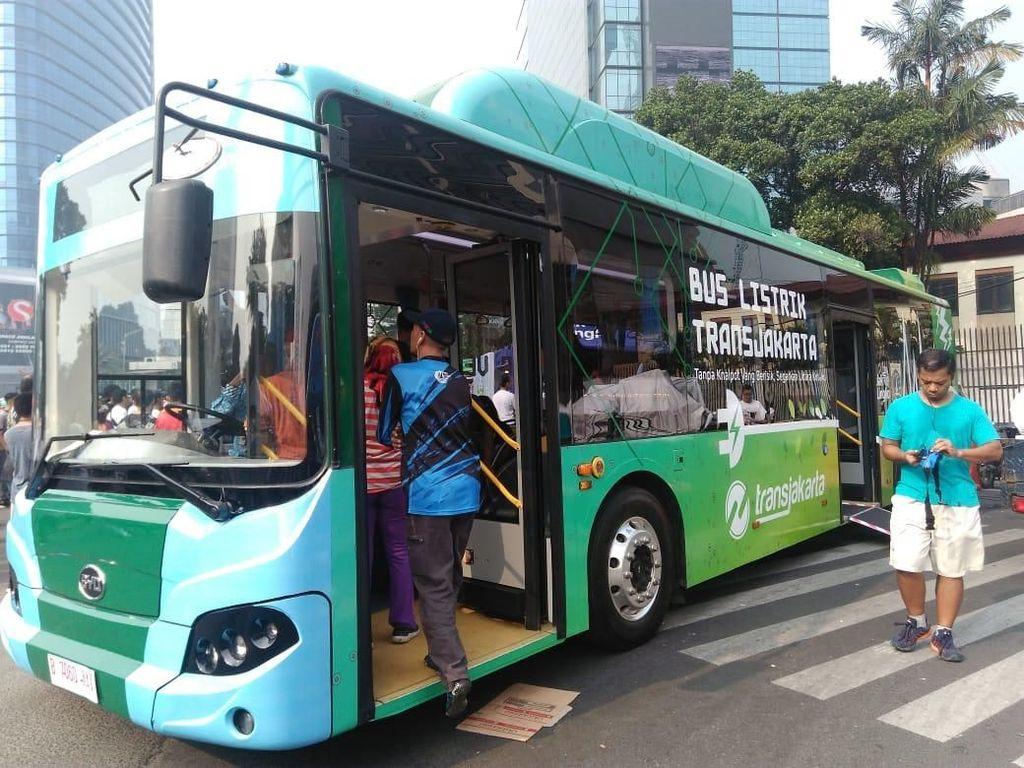 TransJakarta Minta Diskon Tarif Listrik untuk Bus