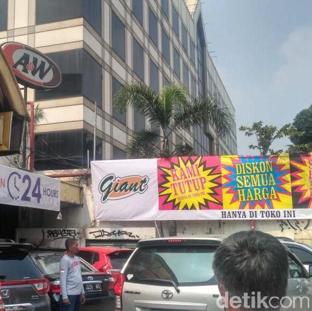Heboh Supermarket Giant akan Tutup 6 Toko