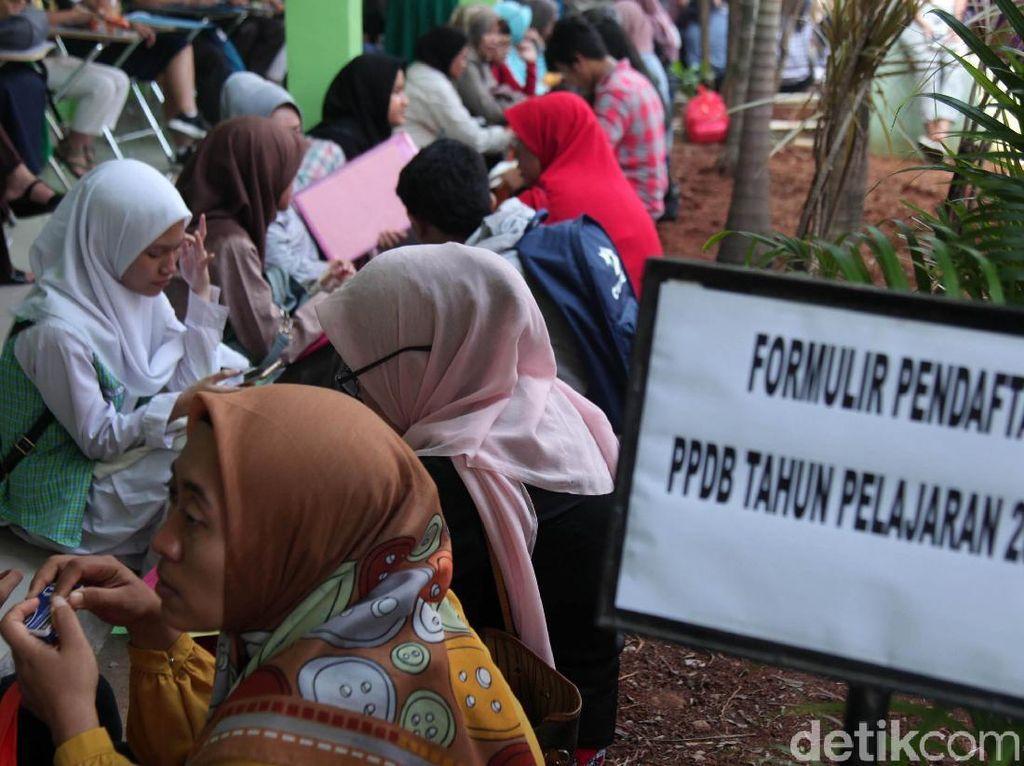 DKI Sediakan Kuota 40% untuk Siswa Baru Lewat Jalur Zonasi