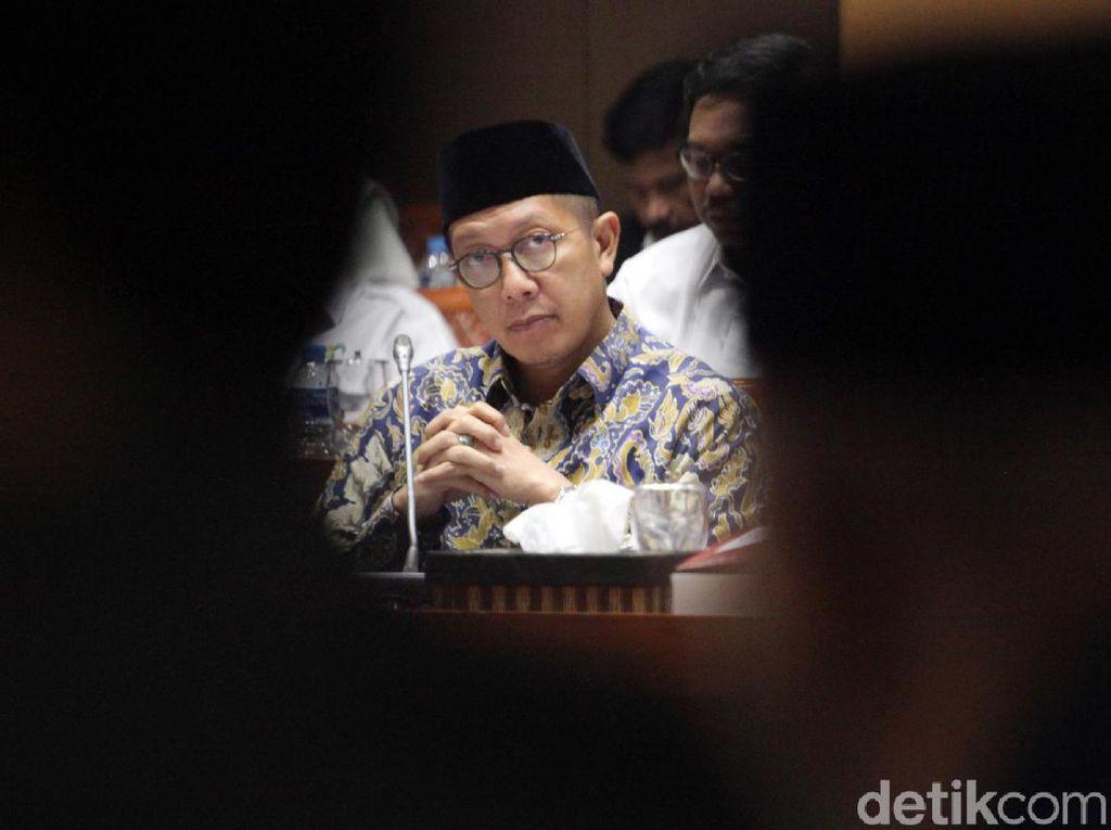 Rapat Bareng DPR, Menag Ajukan Anggaran Rp 71,3 T