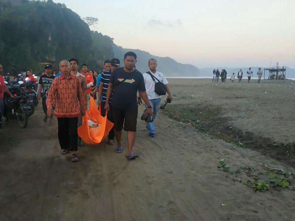 Seorang Pelajar di Tulungagung Tewas Tenggelam di Pantai Sine