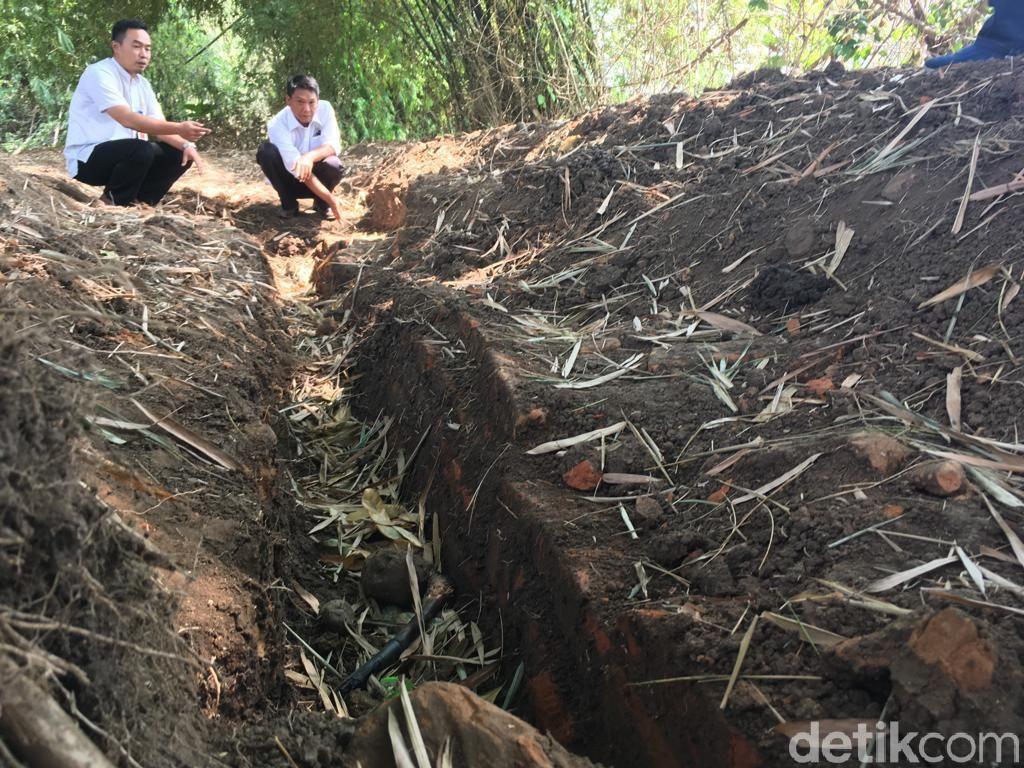 Situs Permukiman Majapahit Temuan Warga di Mojokerto dari Abad 15 Masehi