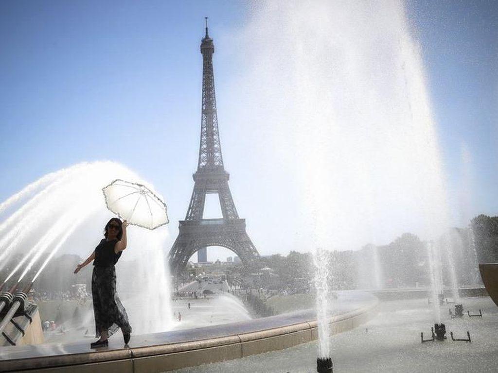 Prancis Hadapi Gelombang Panas Melebihi 40 Derajat Celsius