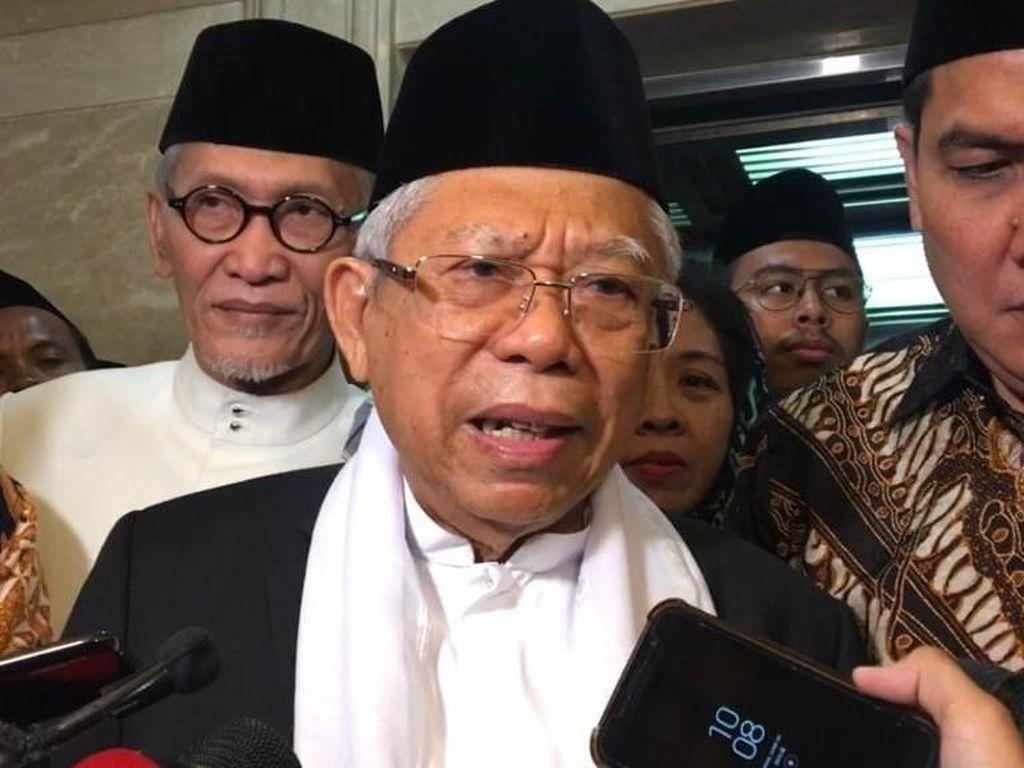 Muhammadiyah Minta RUU Pesantren Ditunda, Ini Kata Maruf Amin