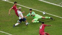 Gol-gol Aguero dan Lautaro Martinez Loloskan Argentina
