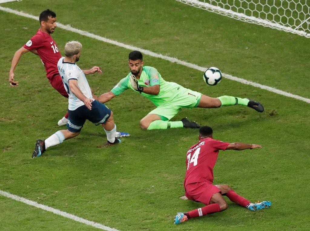 Gol Cepat dan Ketenangan Antarkan Argentina ke Perempatfinal