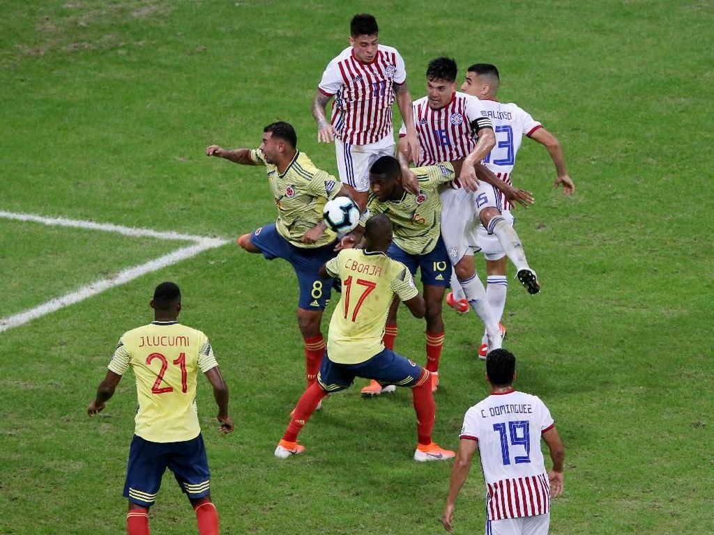 Hasil Copa America: Atasi Paraguay, Kolombia Sapu Bersih Fase Grup