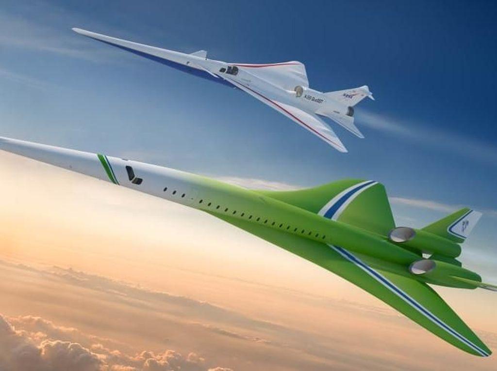 Foto Rancangan Pesawat Supersonik Terbaru dari Amerika