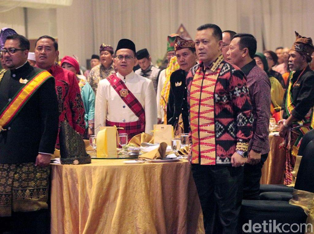 Momen Berkumpulnya 100 Raja dan Sultan se-Nusantara