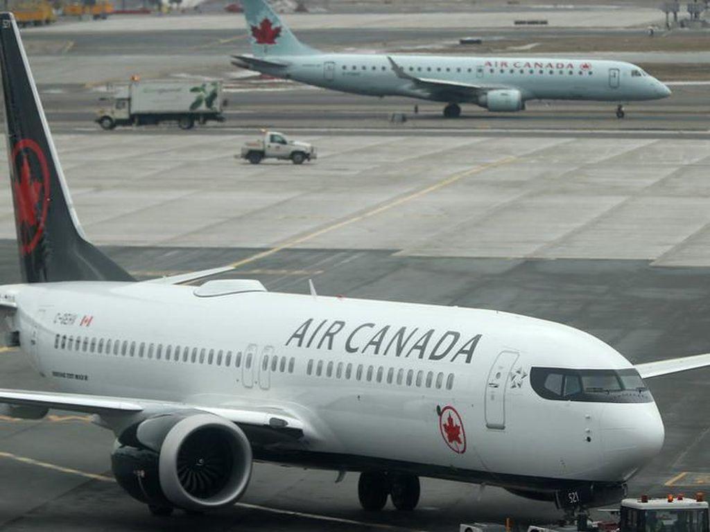 Maskapai Kanada Tawarkan Tiket Terbang Tanpa Batas