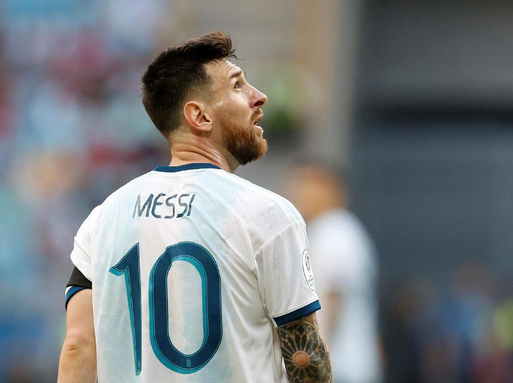 Messi Kembali Dipanggil Timnas Argentina Usai Sanksinya Berakhir