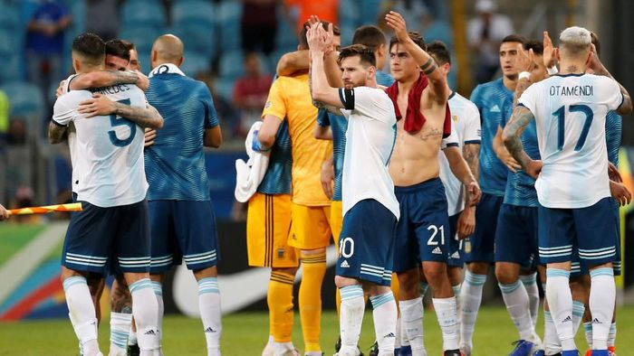 kontestan perempatfinal Copa America 2019. (Foto: Diego Vara/Reuters)