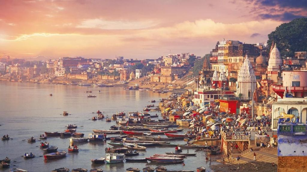 Foto: Kota Favorit di India Untuk Meninggal Dunia