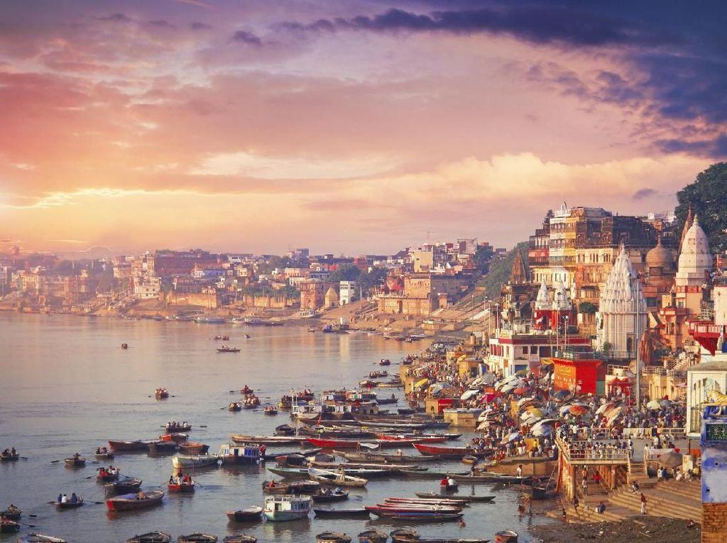 Kota Suci yang Jadi Tujuan Meninggal Orang India