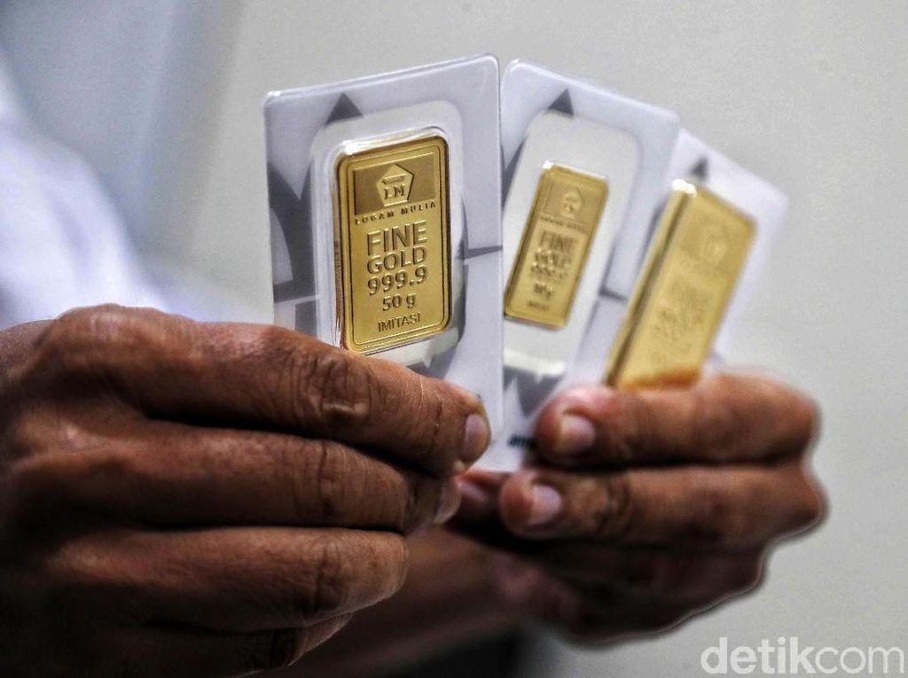 Emas Antam Hari Ini Dijual Rp 876.000/Gram