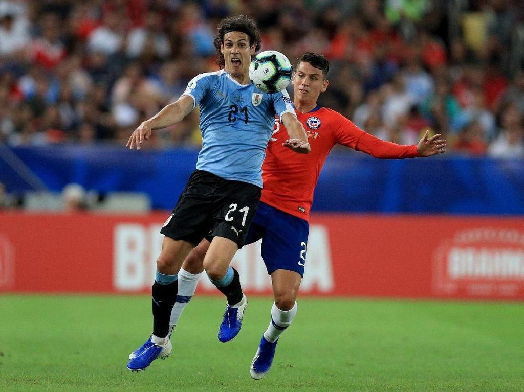Hasil Copa America: Kalahkan Chile, Uruguay Jadi Juara Grup C