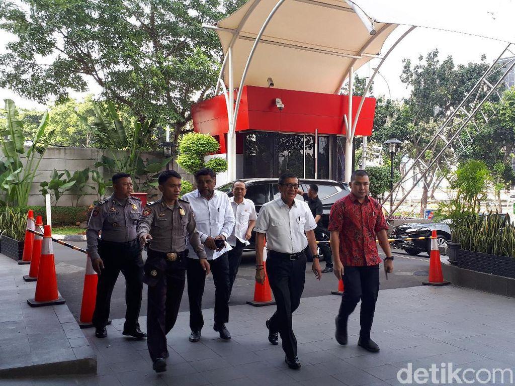Penuhi Panggilan KPK di Kasus e-KTP, Yasonna Laoly Tak Banyak Bicara