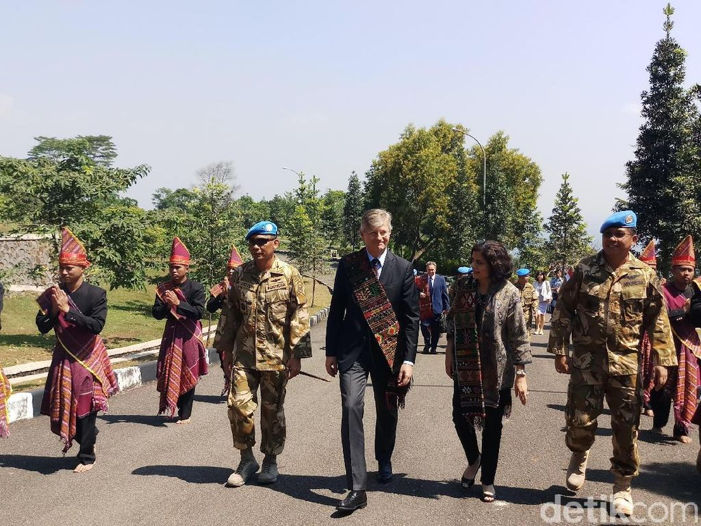 Kunjungi PMPP Sentul, Wasekjen PBB Puji Pasukan Perdamaian TNI