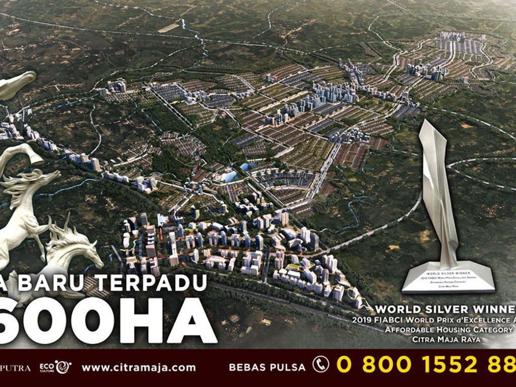 Sukses Bangun 15.000+ Rumah, Citra Maja Raya Pasarkan Ruko 685 Juta
