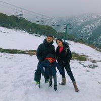 Quality Time Seru Raffi Ahmad dan Rafathar Saat Main Salju
