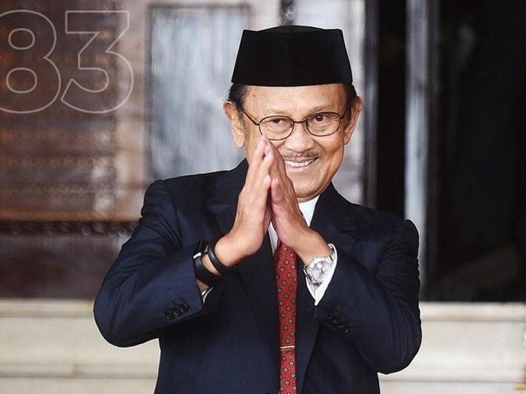 Profil BJ Habibie, Presiden Ketiga Indonesia yang Berulang Tahun Ke-83